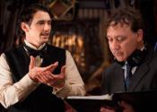 С Джеймсом Франко на съемках «Оз: Великий и ужасный» (2013)