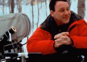 На съемках фильма «Простой план» (1998)