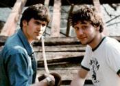 Сэм Рейми и Брюс Кэмпбелл в 1979 году