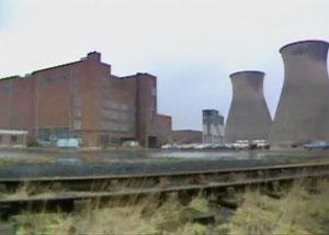 заброшенная электростанция - в ней снимались чужие