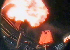 Съемки взрыва в Матрице
