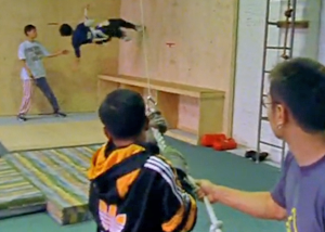 Тренировка перед съемками Матрицы
