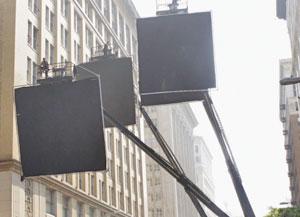 экраны - вспомогательная часть процесса съемок фильма начало