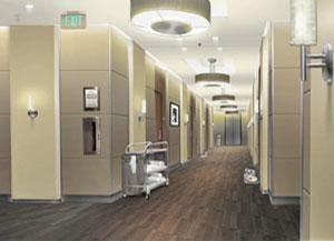эскиз коридора