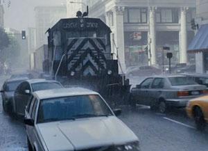поезд в одном из слоев сна
