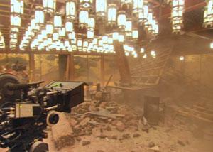 землетрясение - кадр из фильма начало