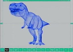 создание компьютерного динозавра для парка юрского периода