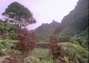 Панорама острова Кауаи