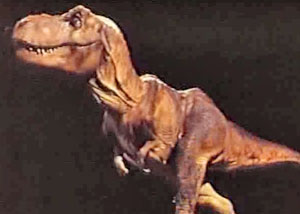 Анимация тиранозавра в фильме парк юрского периода